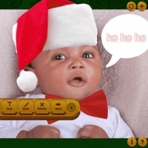 álbum com aplicativos para edição de fotos | Baby Holidays | Gratuito | Disponível para iOS (itunes.apple.com/tr/app/baby-holidays-free-baby-picture/id574376508?mt=8) | O aplicativo permite acrescentar peças como orelhas de coelho e roupa de Papai Noel, por exemplo, nas fotos. Assim, é possível fazer uma imagem estilizada comemorando datas como Páscoa e Natal. Por pouco mais de dois dólares, o programa disponibiliza adornos para outras ocasiões festivas, como Dia dos Namorados - Montagem/Getty Images