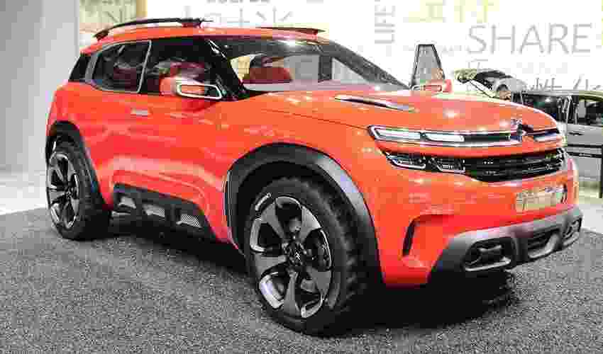 Citroën Aircross Concept - Newspress