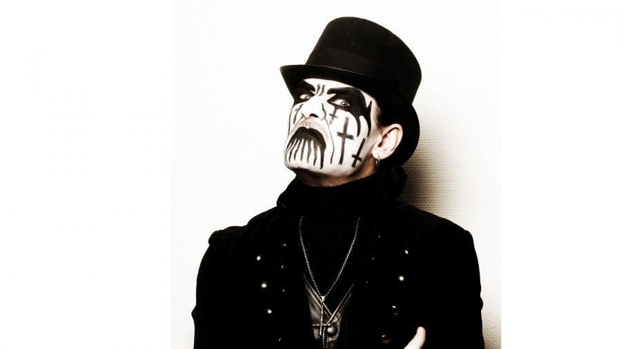 King Diamond fez fama com o Mercyful Fate e em carreira solo - Divulgação