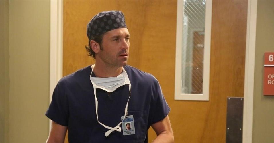 Patrick Dempsey interpretou durante 11 temporadas o papel do médico Derek Shepherd na série