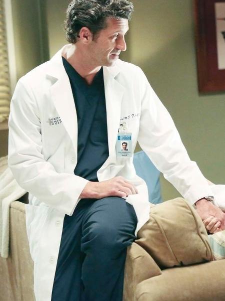 "Derek (Patrick Dempsey) em ""Grey""s Anatomy"" - Divulgação/EBC"