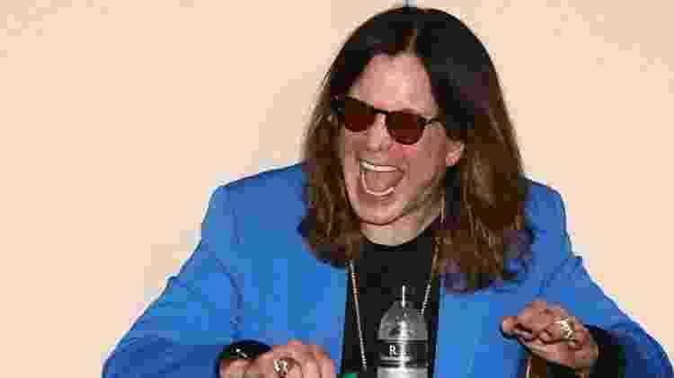 24.abr.2015 - Ozzy Osbourne conversa com os jornalistas em São Paulo sobre a apresentação que fará neste sábado (25), no Monsters of Rock, em São Paulo - Manuela Scarpa/Photo Rio News - Manuela Scarpa/Photo Rio News