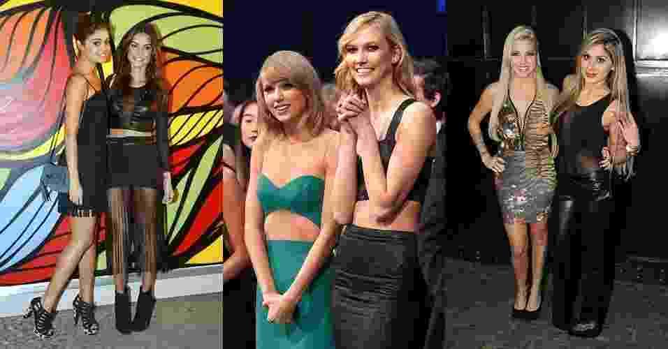 Abre - Sintonia fashion: veja as melhores amigas famosas que têm o mesmo estilo - Getty Images e Agnews