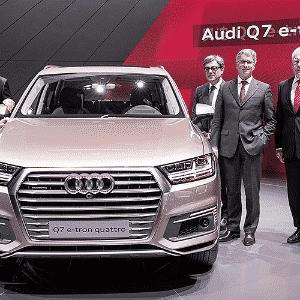 Audi Q7 e-tron 2.0 TFSI - Divulgação