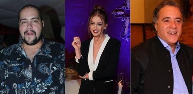 Tiago Abravanel, Marina Ruy Barbosa e Tony Ramos revelam como foi o primeiro dia na TV Globo