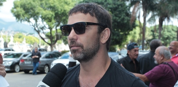 O ator Marcelo Faria que pedalava frequentemente na ciclovia que desabou