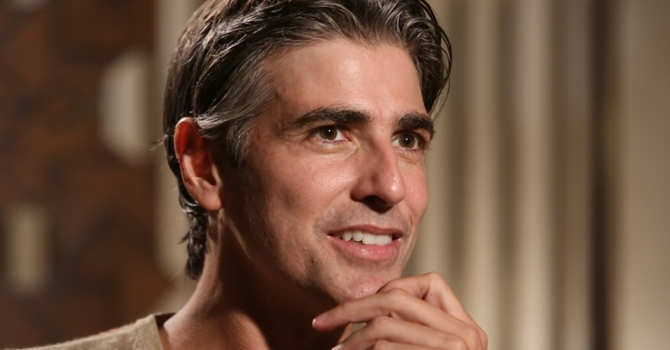 """O ator Reynaldo Gianecchini participa do programa """"Grandes Atores"""", do Canal Viva"""