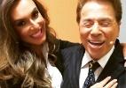 """Nicole Bahls mostra foto abraçadinha com Silvio Santos: """"Morri"""" - Reprodução/Instagram/eunicolebahls"""