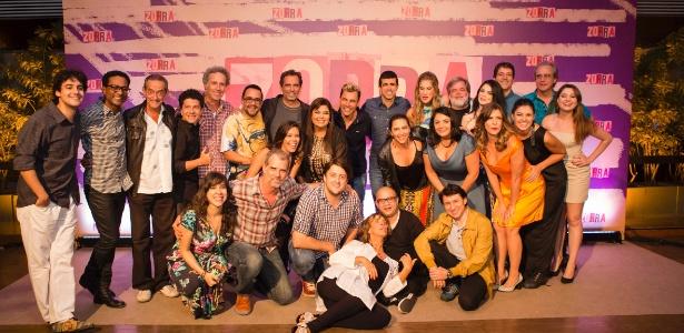 """Elenco do """"Zorra"""" tem nomes como Fabiana Karla e Rodrigo Sant""""Anna - Estevam Avellar/Globo"""
