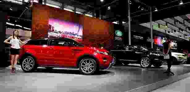 Range Rover Evoque é mostrado ao público no Salão de Xangai - Nick Dimbleby/Reprodução - Nick Dimbleby/Reprodução