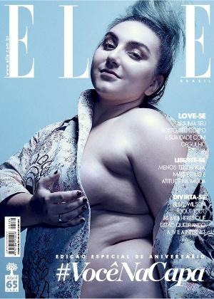 4e418ba9a Blogueira plus size estrela capa de especial de revista brasileira de moda