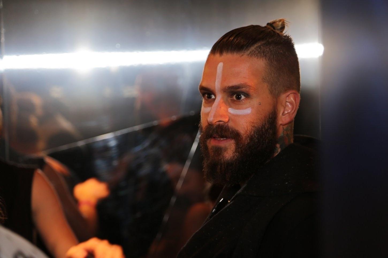 01.mai.2015 - O modelo Mateus Verdelho, que participou do reality show