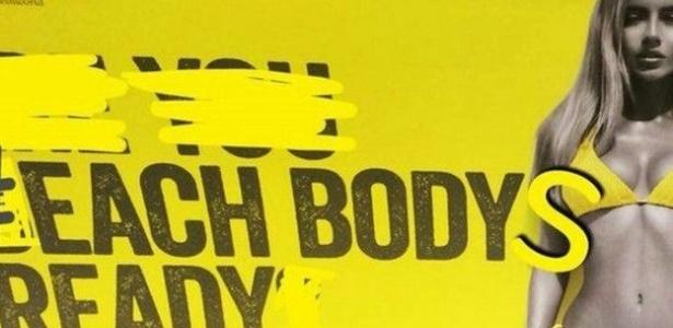 """Manipulações da publicidade em Londres dizem: """"Todos os corpos estão prontos"""" - BBC"""