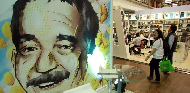 Feira do Livro de Bogotá, na Colômbia, homenageia Gabriel Garcia Márquez - Mauricio Dueñas Castañeda/EFE