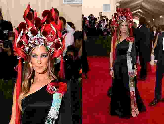 04.mai.2015 - Sarah Jessica Parker no MET 2015 - Getty Images