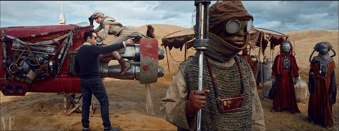"""Cena de do episódio 7 de """"Star Wars: O Despertar da Força"""", novo longa dirigido por J.J. Abrams"""