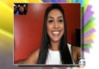 Mônica Iozzi alfineta ex-BBB Fernando em conversa ao vivo com Amanda - Reprodução/TV Globo