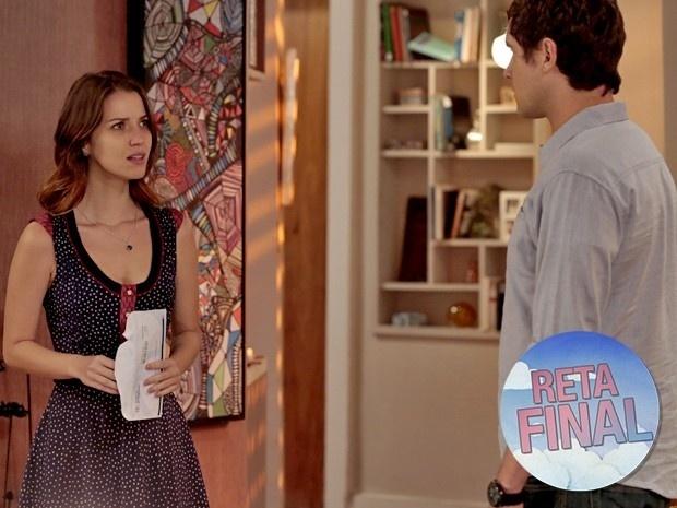 Laura recebe teste de DNA e descobre que Úrsula não é sua mãe biológica