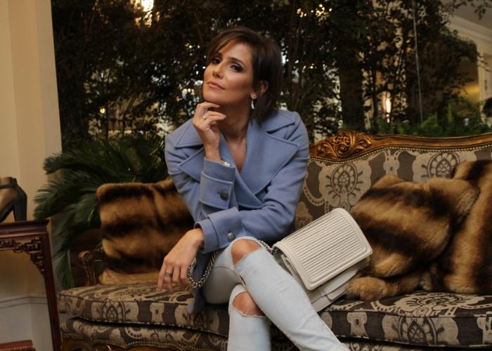 """05.mai.2015 - Deborah Secco diz que Drica Moraes, sua substituta em """"Verdades Secretas"""", fará a personagem melhor que ela"""