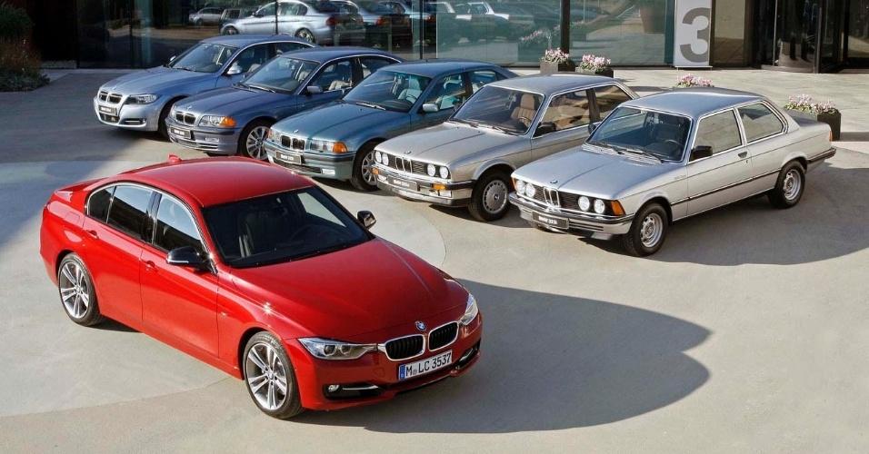 BMW Série 3 faz 40 anos