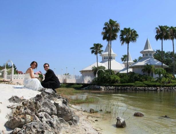 Tatiana Roitman se casou na Disney, mesmo sabendo que muitos convidados não iriam - Arquivo Pessoal