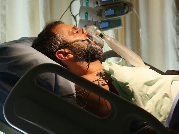 Miguel tem hemorragia após transplante de fígado e volta para a mesa de cirurgia