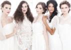 Inspirados no Mês das Noivas, cabeleireiros criam cinco penteados diferentes - Bruno Bralfperr/Divulgação