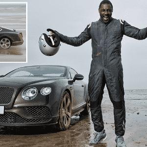 Ator Idris Elba bate recorde de velocidade em praia do País de Gales - Divulgação