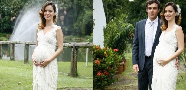 "Nathalia Dill e Sergio Quizé gravam de noivos na reta final de ""Alto Astral"""