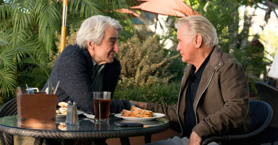 Sam Waterson e Martin Sheen interpretam Sol e Robert em