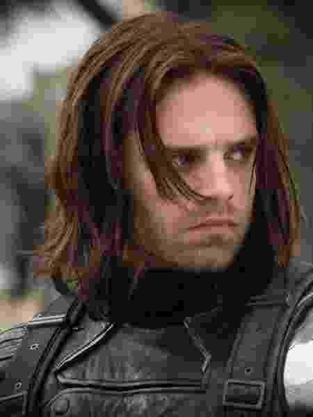 Sebastian Stan como Soldado Invernal em Capitão América 2 - Divulgação