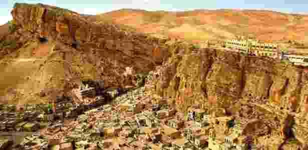 Cidade de Maalula, na Síria: país lidera lista de lugares perigosos para turistas - Marcel Vincenti/UOL