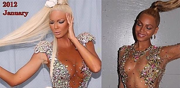 Jelena Karleusa acusa Beyoncé de imitar suas roupas - Reprodução/Instagram/@karleusastar