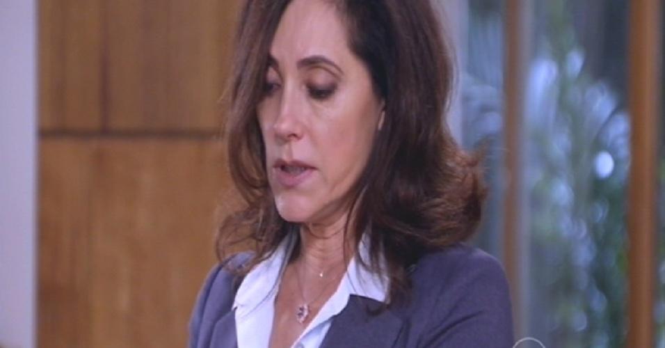 """""""O Marcos vivia dizendo que o Caíque era esquizofrênico, mas é ele que tem a doença"""", diz Maria Inês"""