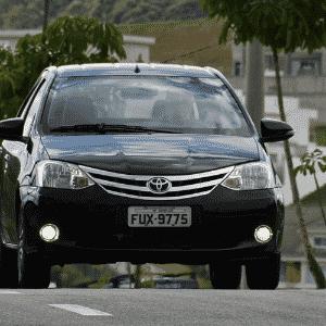 Toyota Etios Sedã 1.5 Platinum 2016 - Murilo Góes/UOL