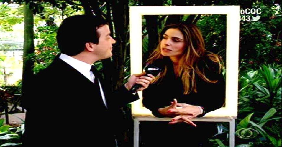 11.mai.2015 - Daniella Cicarelli dá sua versão sobre quebradeira em mansão de Ronaldo