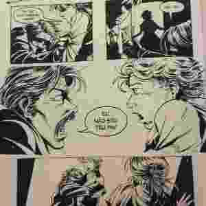 """Bentinho diz a Ezequiel que não é seu pai na HQ """"Dom Casmurro"""", baseada no original de Machado de Assis de 1899 - Reprodução"""