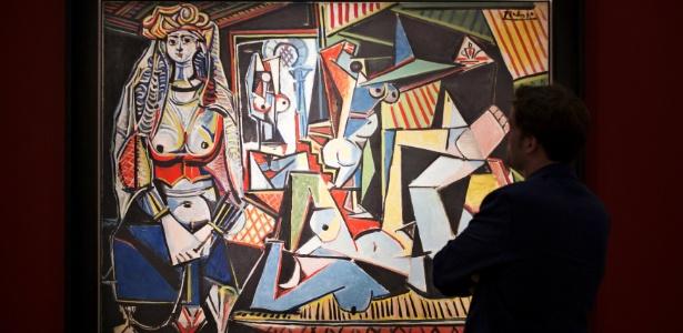 """O quadro """"As  Mulheres de Argel"""", de Pablo Picasso - Darren Ornitz/Reuters"""