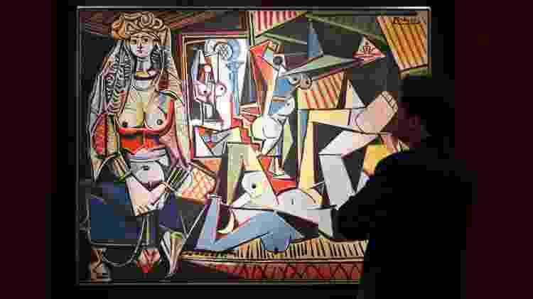"""O quadro """"As  Mulheres de Argel"""", de Pablo Picasso - Darren Ornitz/Reuters - Darren Ornitz/Reuters"""