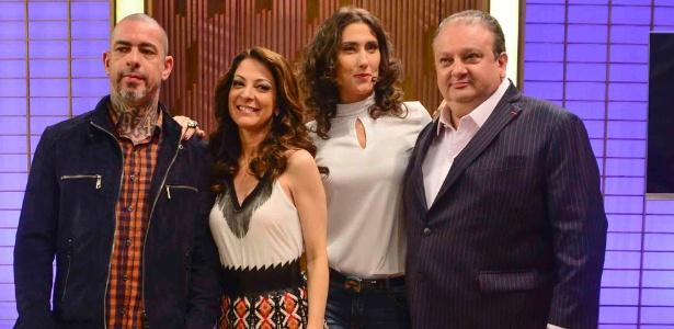 Fogaça, Ana Paula, Paola e Jacquin, do MasterCheff - Leo Franco/AgNews