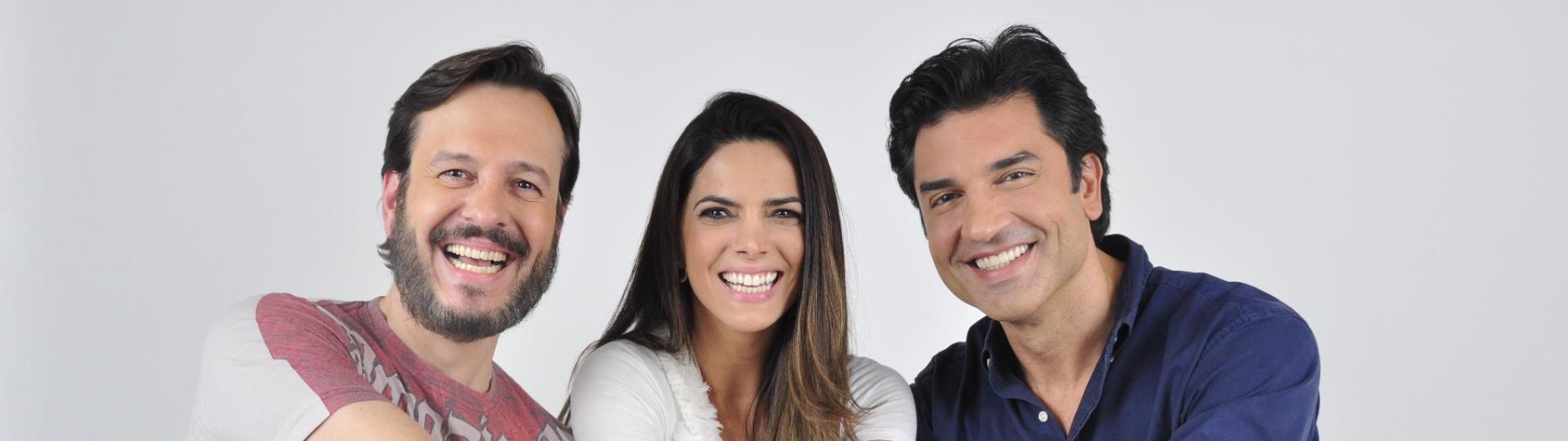 Celso Zucatelli, Mariana Leão e Edu Guedes apresentam o
