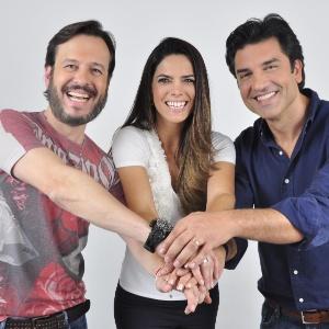 Zucatelli, Mariana e Guedes apresentam o Melhor pra você  - Divulgação/RedeTV!