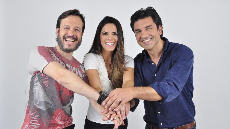 """Celso Zucatelli, Mariana Leão e Edu Guedes apresentam o """"Melhor Pra Você"""", da RedeTV! - Divulgação/RedeTV!"""