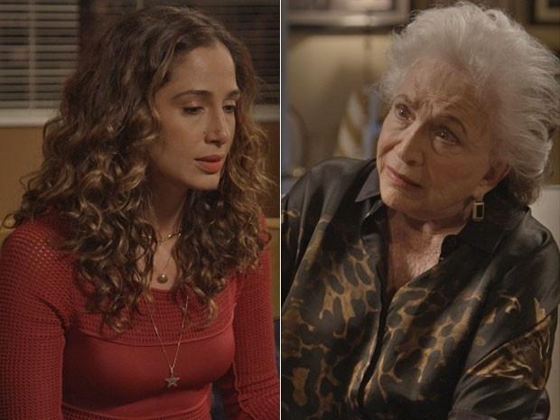 Estela defende Beatriz e diz que Inês e Cristóvão eram amantes
