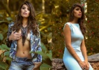 Ex-BBB Franciele mostra boa forma em ensaio de moda provocante - Márcio Farias