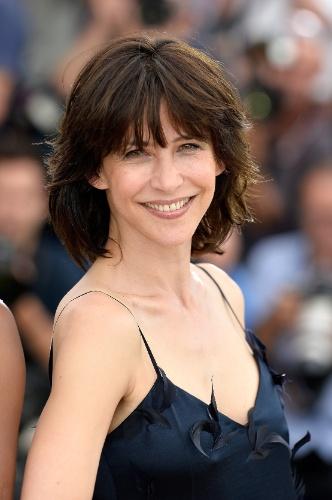 13.mai.2015 - Integrante do júri da Competição do Festival de Cannes 2015, a atriz francesa Sophie Marceau posa durante apresentação do corpo de jurados