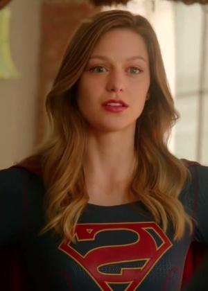 """Melissa Benoist como Kara, em """"Supergirl"""" - Reprodução/CBS"""