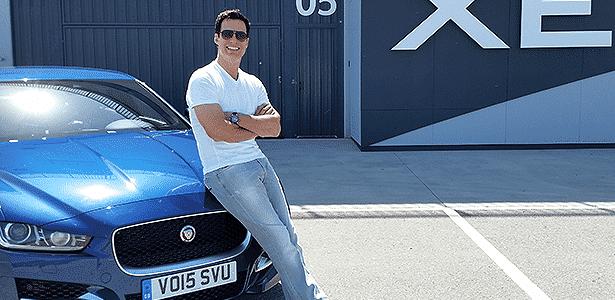 Ator Carlos Casagrande afirma que modelos da Jaguar são diferenciados e requintados - Eugênio Augusto Brito/UOL