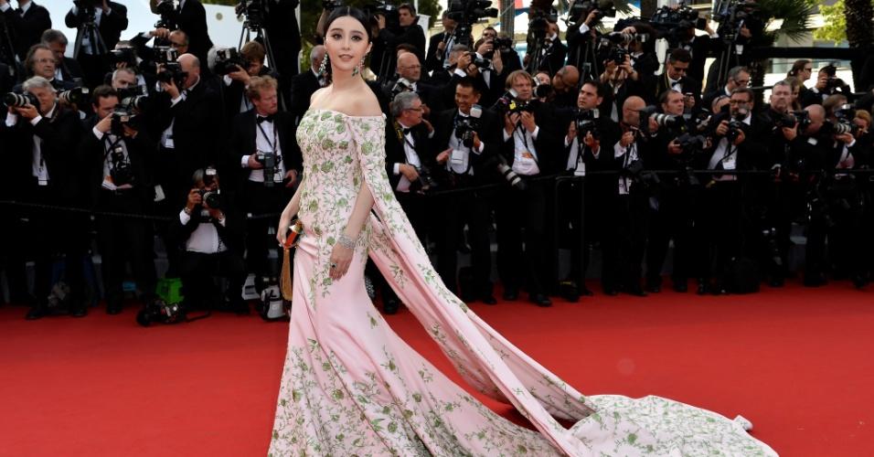 13.mai.15 - Fan Bingbing em Cannes 2015
