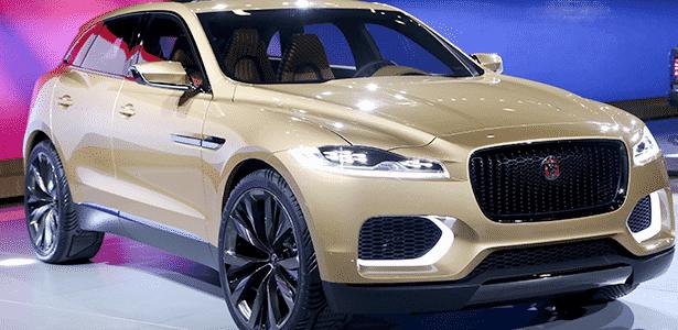 Jaguar C-X17 Concept China - Divulgação - Divulgação